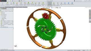 getlinkyoutube.com-Solidworks tutorial | Sketch Pulley expansion (Animation) in Solidworks