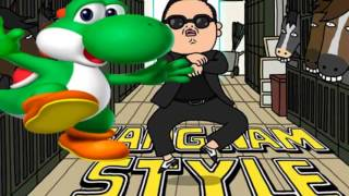 getlinkyoutube.com-PSY - GANGNAM STYLE!! PARODIE YOSHI STYLE