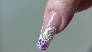 getlinkyoutube.com-Nail Art Effetto Zucchero Sugar Effect
