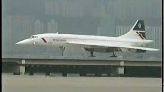 getlinkyoutube.com-BRITISH AIRWAYS Concorde at Kai Tak (1996)