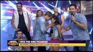getlinkyoutube.com-Gino Pesaressi imitó a Justin Bieber y nos dejó este playback