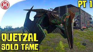 getlinkyoutube.com-ARK: Survival Evolved - Quetzal Solo Tame Part 1 (Gameplay)
