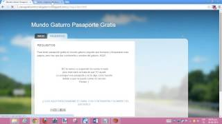 getlinkyoutube.com-como tener pasaporte gratis en mundo gaturro (REAL)