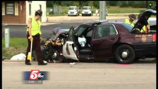 getlinkyoutube.com-2 Dead in Crash with State Trooper Squad Car in Cannon Falls