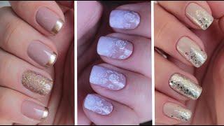 getlinkyoutube.com-Como fazer 3 unhas decoradas (nail art) para noivas - #especial10k - dia 5