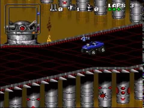 SNES Rock'n'Roll Racing - Olaf