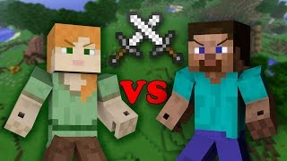 getlinkyoutube.com-Alex VS Steve - Minecraft