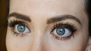 getlinkyoutube.com-Como hacer tus pestañas 4 veces más largas y gruesas. How to get MASSIVE eyelashes!!