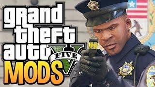 getlinkyoutube.com-GTA 5 - Franklin Joins the Police Force - GTA 5 Police Mod (GTA 5 Funny Moments w/ Mods)