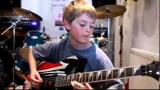 getlinkyoutube.com-anak Umur 11 tahun main gitar - Canon Rock