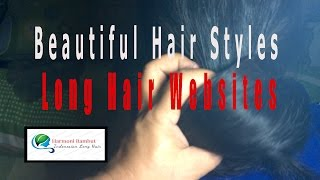 getlinkyoutube.com-Beautiful hair styles - Long hair websites
