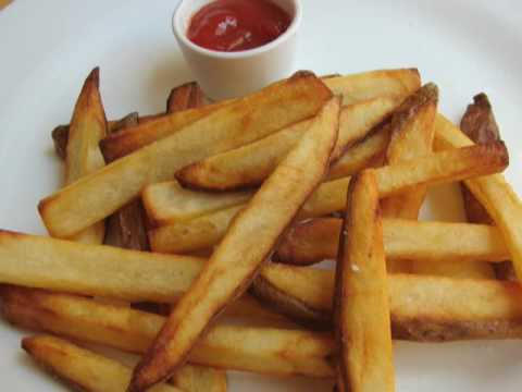 French Fries - How to Make Crispy French Fries