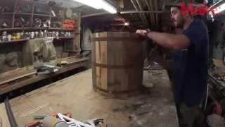 getlinkyoutube.com-Как сделать деревянное ведро своими руками.
