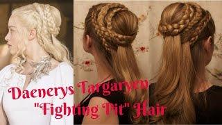 getlinkyoutube.com-Game of Thrones Hair: Daenerys Targaryen, Season 5.
