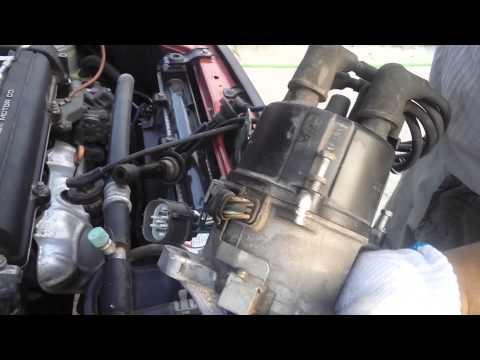 Как правильно снять/поставить трамблер на Honda CR-V