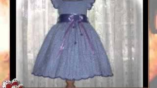 getlinkyoutube.com-Crochet Pattern Children Dress - Alissa's Autumn Glory