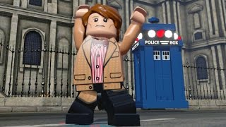 LEGO Dimensions - Eleventh Doctor (Matt Smith) Free Roam Gameplay