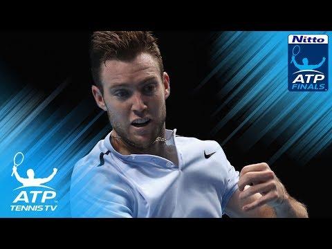 Jack Sock Hot Shots v Marin Cilic   Nitto ATP Finals 2017