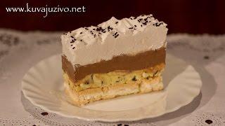 getlinkyoutube.com-Torta sa krem bananicama - Video recept - Kuvaj uživo