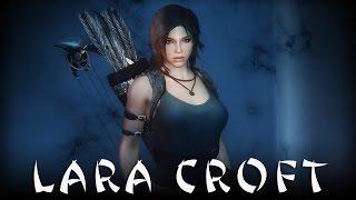 getlinkyoutube.com-Skyrim: Lara Croft Follower 1.04