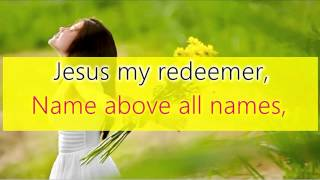 THANK-you-Oh-my-Father-There-is-a-redeemer width=