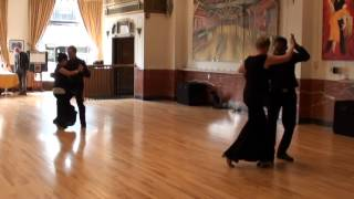 Annie/Michael, Theresa/Venkat Argentine Tango Jack and Jill