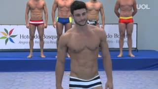 getlinkyoutube.com-Mister Brasil 2014: Preliminary Judging