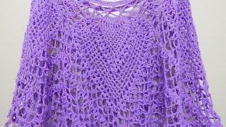 getlinkyoutube.com-Capa Cuatro Piñas Crochet 1 de 2
