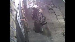 CCTV: Robber steals cash and cigarettes from Nugegoda shop