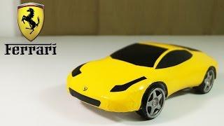 getlinkyoutube.com-How To Make an Electric  Ferrari Car Out Of Polystyrene Foam