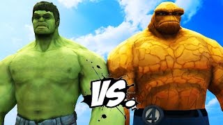 getlinkyoutube.com-THE HULK VS THE THING - EPIC SUPERHEROES BATTLE | DEATH MATCH