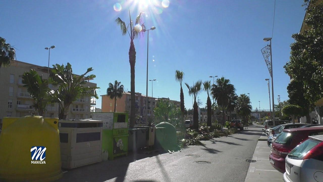 El ayuntamiento cumple mejora las zonas verdes del municipio