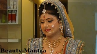 getlinkyoutube.com-Indian Wedding Makeup - Morning Wedding Makeup - Complete Hair And Makeup