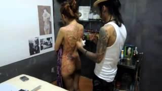 Thai gril tattoo