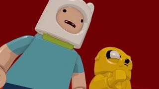 LEGO Dimensions - Adventure Time Level Pack Walkthrough - A Book and a Bad Guy