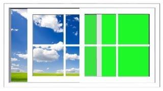 getlinkyoutube.com-window opens and closes - green screen effect