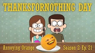 """Thanksfornothing Day"": Annoying Orange Episode Review"