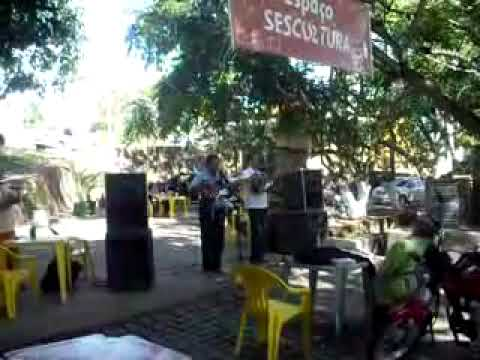 Repentistas na cidade de Triunfo-PE (Passeio da Igreja Batista ao SESC em 01/11/2009) Parte 01