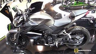 getlinkyoutube.com-2015 Kawasaki Z300 - Walkaround - 2014 EICMA Milan Motorcycle Exhibition