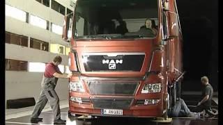 MAN TGX - testy w tunelu aerodynamicznym