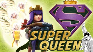 getlinkyoutube.com-FARM WALLS FAST! Best upgrade strategy = Super Queen + Valkyrie for Th9, Th10, & Th11