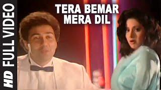 Tera Bemar Mera Dil Full HD Song | Chaal Baaz | Sunny Deol, Sridevi
