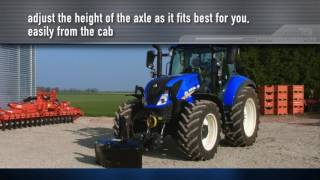 New Holland T5 Tier 4B - Front axle and cab suspension
