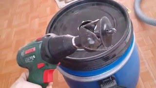 getlinkyoutube.com-Циклонный фильтр из канализационных труб