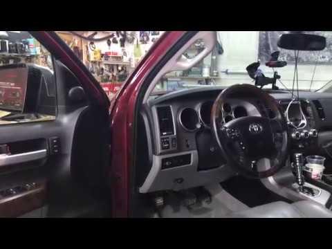 Toyota Tundra (Тойота Тундра) шумоизоляция олимп материалами Comfort.mat
