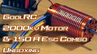GoolRC 2000kv + 150A ESC Combo - Unboxing