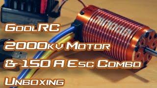 getlinkyoutube.com-GoolRC 2000kv + 150A ESC Combo - Unboxing