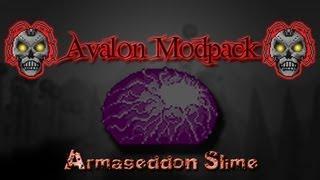 getlinkyoutube.com-Terraria Avalon Mod - Armageddon Slime - Melee