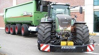 getlinkyoutube.com-FENDT Tractors | Claas Jaguar 950 | Hawe Abschiebewagen | Grassilage | AgrartechnikHD