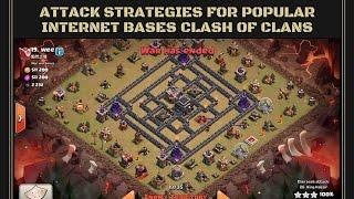 getlinkyoutube.com-IBB: (4 corners base) AQ Walk Goho & 8 eq Gowiwi - How to beat Popular Clash of Clans Bases